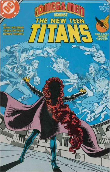 New Teen Titans (1984) 16-A by DC