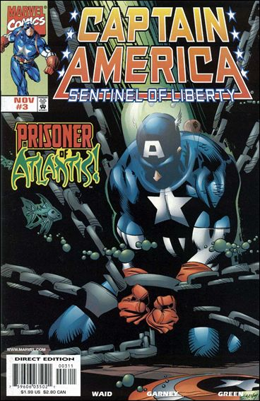 Captain America: Sentinel of Liberty 3-A by Marvel