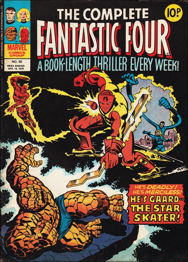 Complete Fantastic Four (UK) 30-A by Marvel UK