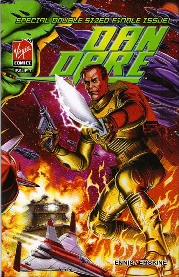 Dan Dare 7-A by Virgin Comics
