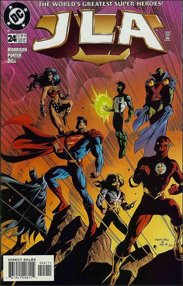 JLA 24-A by DC