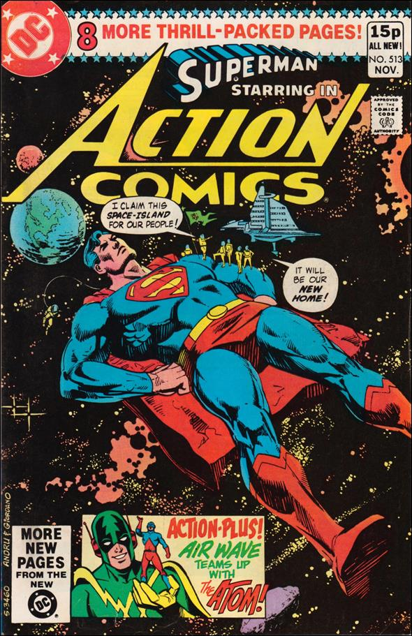 Action Comics (1938) 513-B by DC