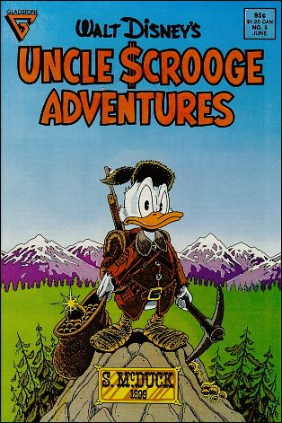 Walt Disney's Uncle Scrooge Adventures 5-A by Gladstone