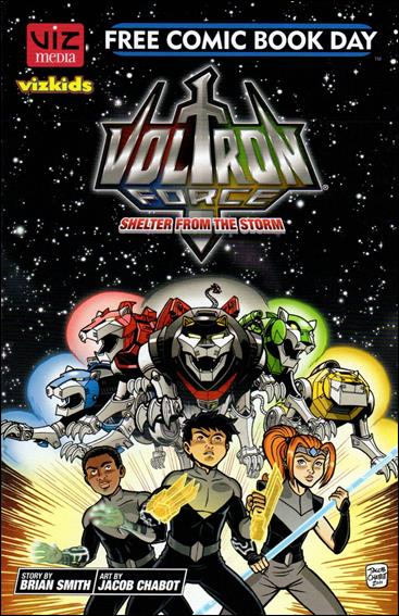 Voltron Force: Shelter from the Storm Free Comic Book Day Edition nn-A by VizKids