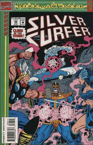Silver Surfer (1987) 88-A by Marvel