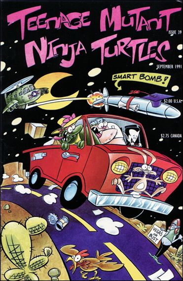 Teenage Mutant Ninja Turtles (1984) 39-A by Mirage