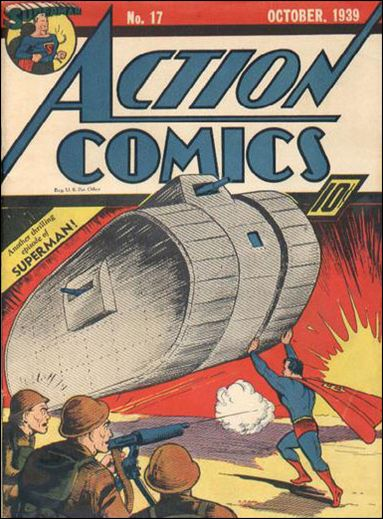 Action Comics (1938) 17-A by DC