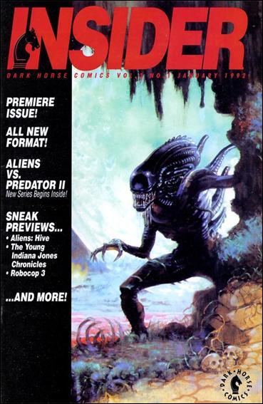 Dark Horse Insider (1992) 1-A by Dark Horse