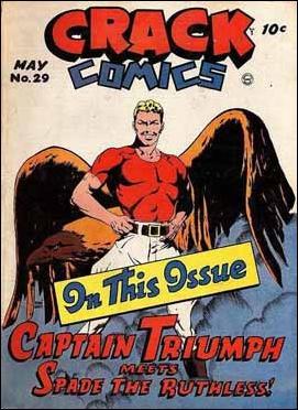 Crack Comics 29-A by Quality