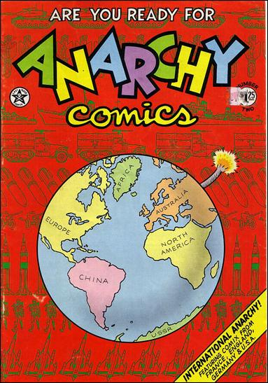 Anarchy Comics 1-B by Last Gasp
