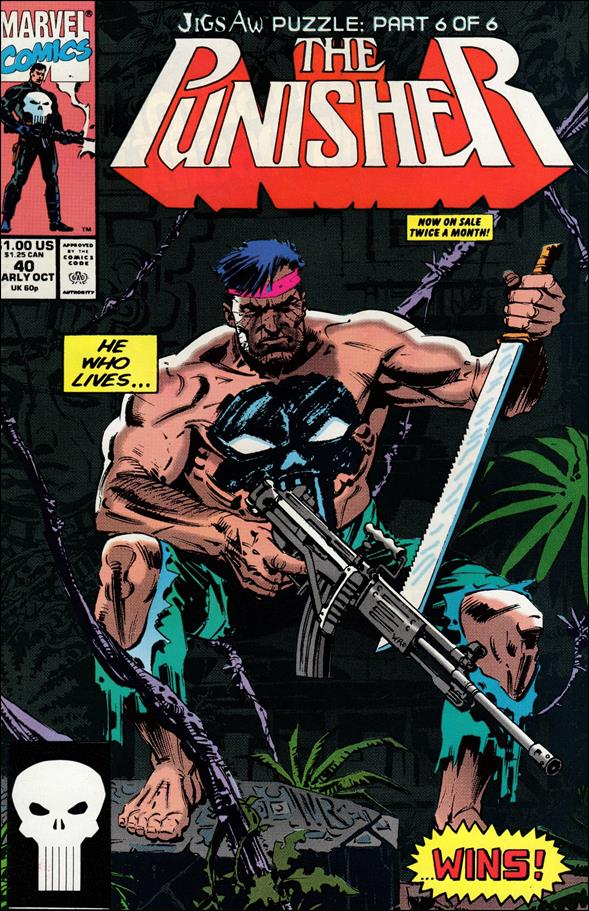 Punisher (1987) 40-A by Marvel