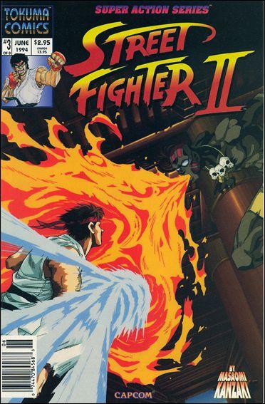 Street Fighter II (1994) 3-A by Tokuma Comics