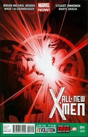 All-New X-Men 4-D by Marvel