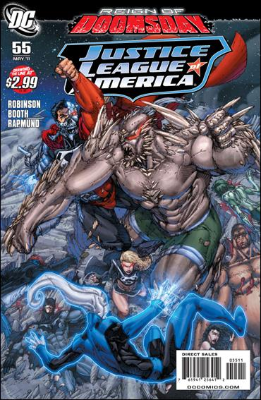 Justice League of America (2006) 55-A by DC