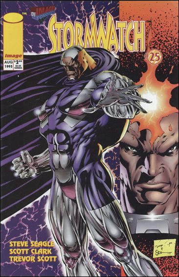 StormWatch (1993) 25-B by Image