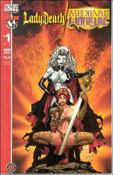 Lady Death/Medieval Witchblade 1-B by Chaos! Comics