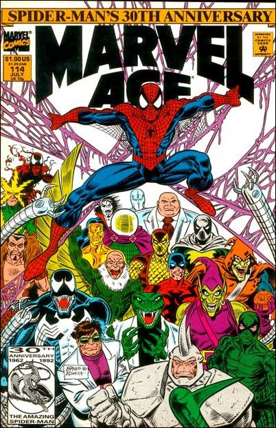 Marvel Age 114-A by Marvel