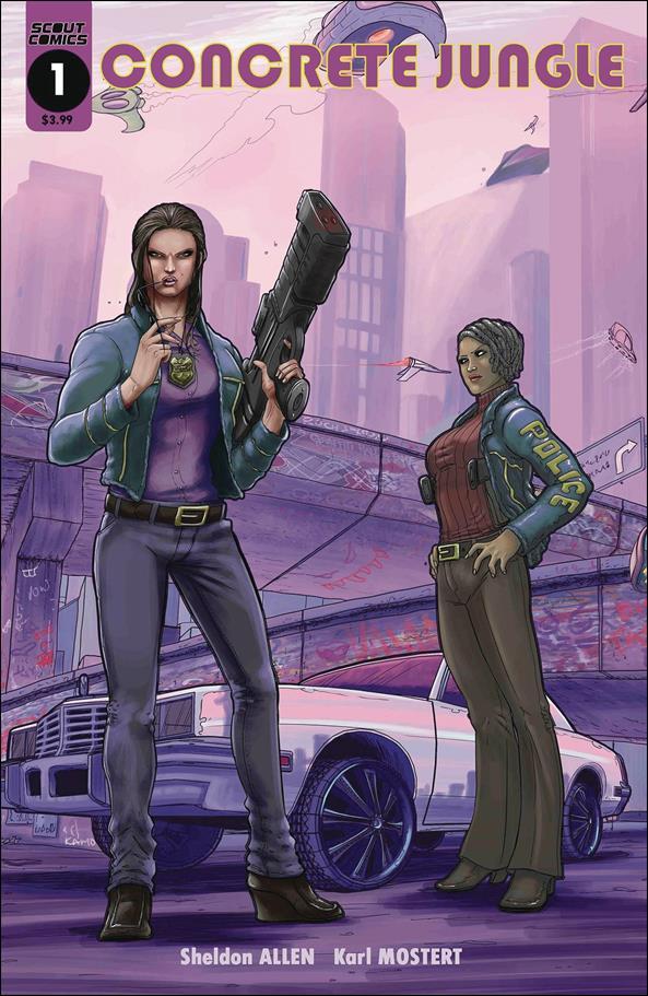 Concrete Jungle 1-A by Scout Comics