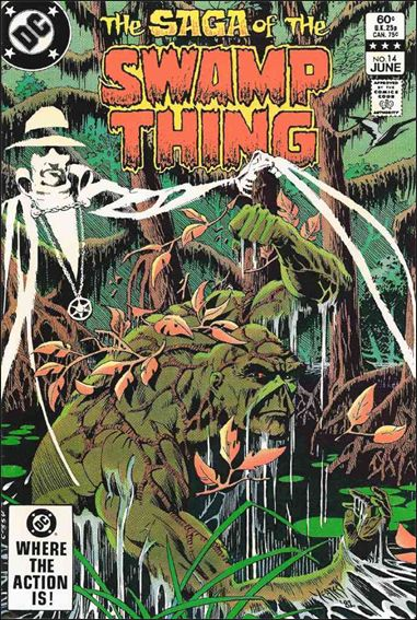 Saga of the Swamp Thing 14-A by DC