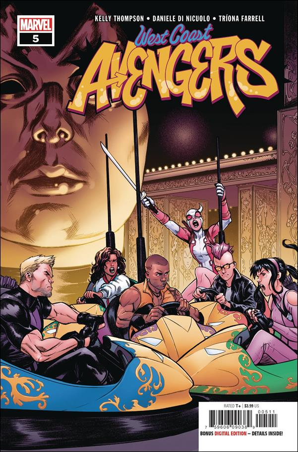 West Coast Avengers (2018) 5-A by Marvel