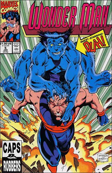 Wonder Man (1991) 5-A by Marvel