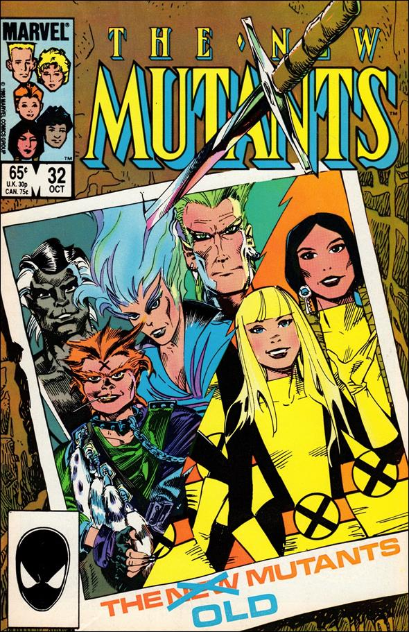 New Mutants (1983) 32-A by Marvel