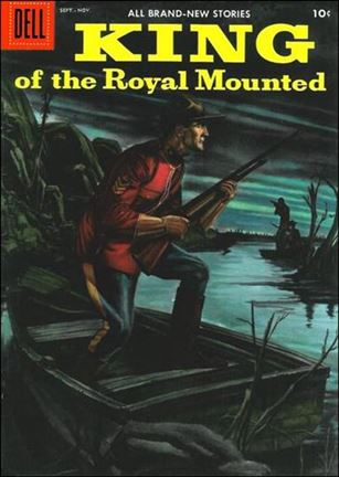 King of the Royal Mounted 22-A
