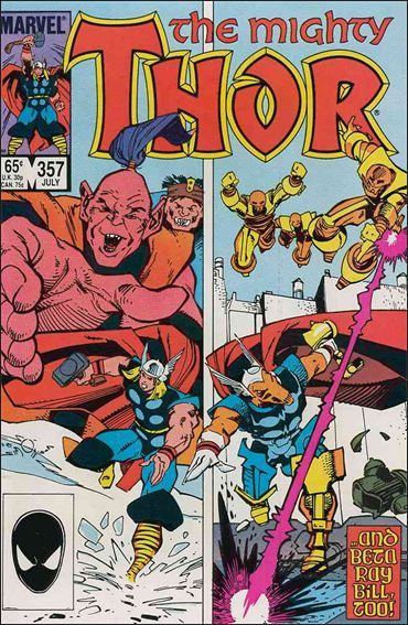 Thor (1966) 357-A by Marvel