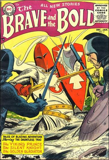 Brave and the Bold (1955) 3-A by DC