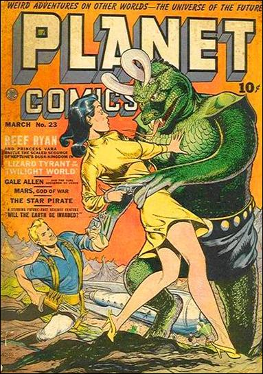 Planet Comics (1940) 23-A by Fiction House Magazines
