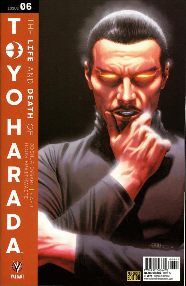 Life and Death of Toyo Harada 6-D by Valiant Entertainment