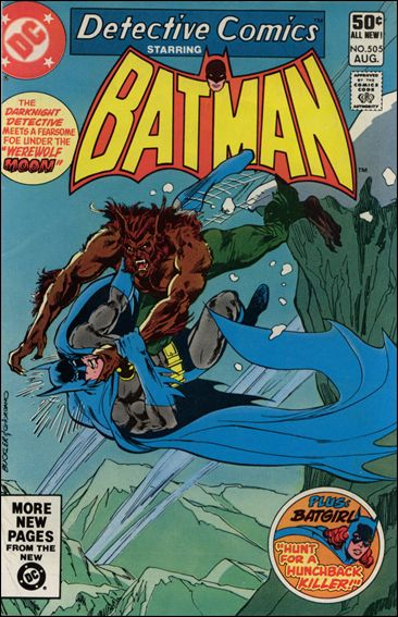 Detective Comics (1937) 505-A by DC
