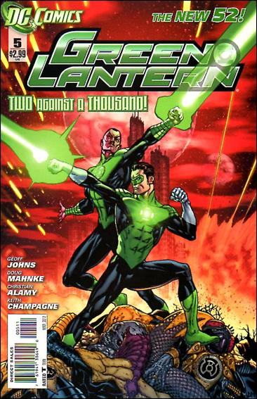Green Lantern (2011) 5-A by DC