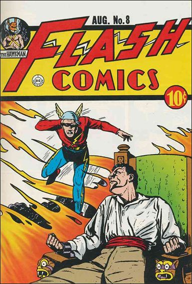 Flash Comics (1939) 8-A by DC