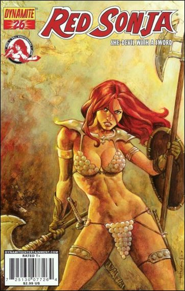 Red Sonja (2005) 26-C by Dynamite Entertainment