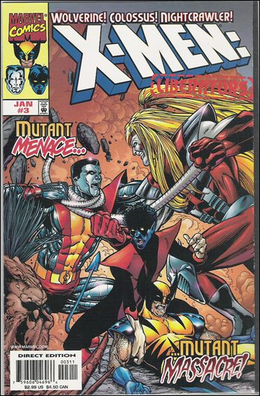 X-Men: Liberators 3-A by Marvel