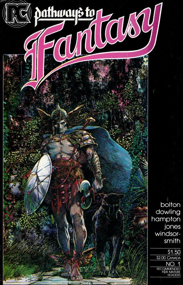 Pathways to Fantasy 1-A by Pacific Comics