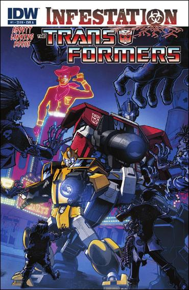 Transformers: Infestation 1-A by IDW
