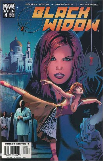 Black Widow (2004) 4-A by Marvel