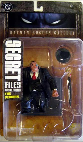 Secret Files (Series 1) [Batman Rogues Gallery 1] The Penguin by DC Direct