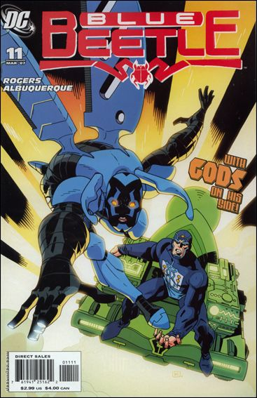 Blue Beetle (2006) 11-A by DC