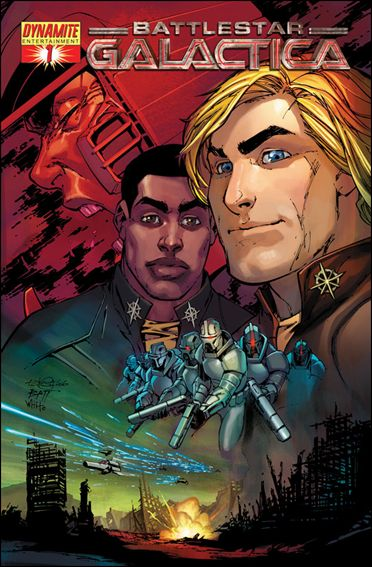 Classic Battlestar Galactica (2006) 1-B by Dynamite Entertainment