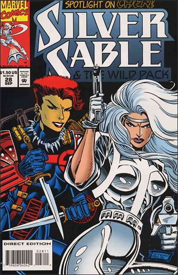 Silver Sable & The Wild Pack 28-A by Marvel
