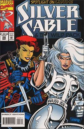 Silver Sable & The Wild Pack 28-A