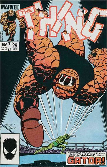 Thing (1983) 29-A by Marvel