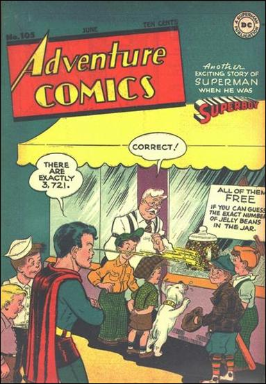 Adventure Comics (1938) 105-A by DC