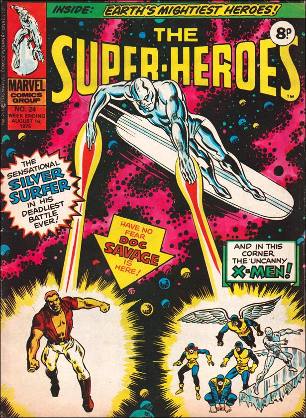 Super-Heroes (UK) 24-A by Marvel UK