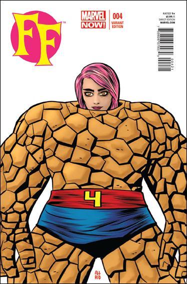 FF (2013) 4-B by Marvel