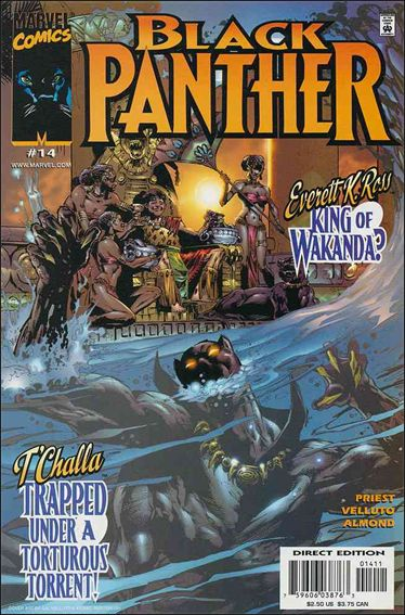 Black Panther (1998) 14-A by Marvel