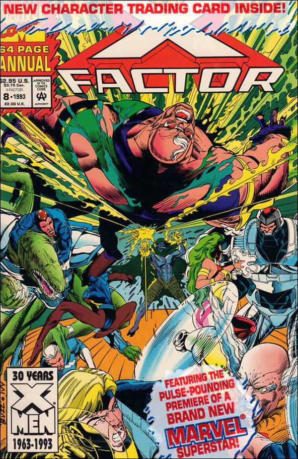 X-Factor Annual 8-A by Marvel